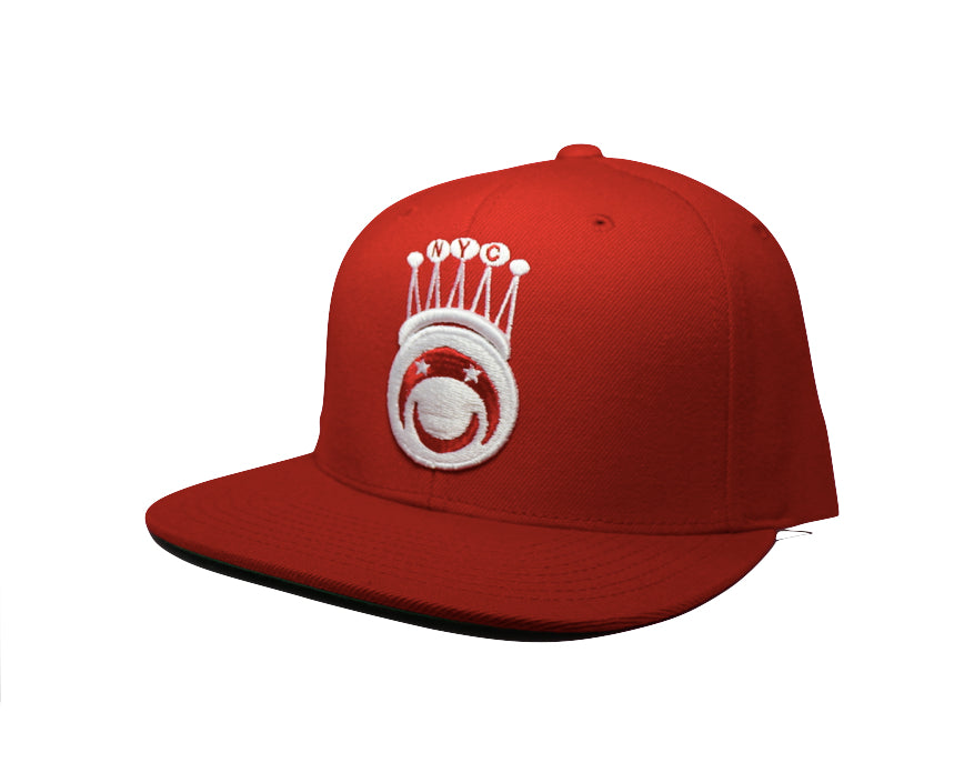 Bucaleany King of NYC Red Snapback - BUCALEANY