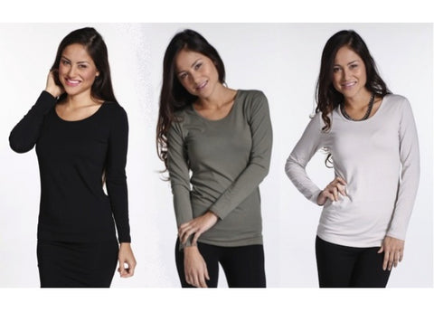 Bamboo Body - Bamboo Cotton Long Sleeve Top