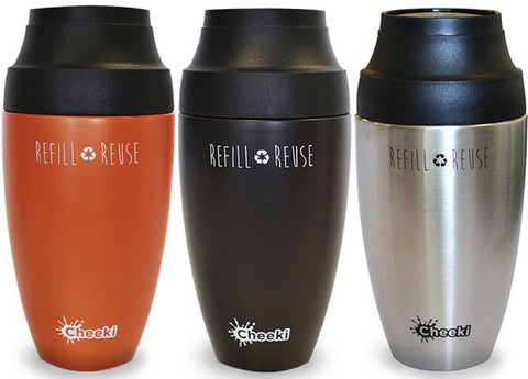 Cheeki - Insulated Coffee Mugs, 350ml