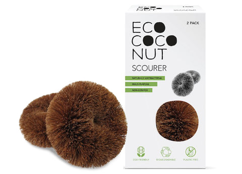 EcoCoconut - Scourer, twin pack