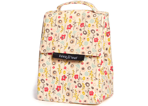 Keep Leaf - Insulated Lunch Bag, Bloom