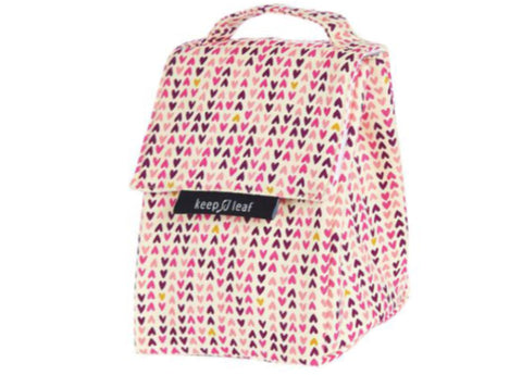 Keep Leaf - Insulated Lunch Bag, Hearts