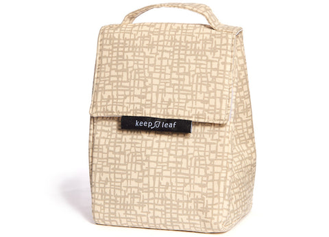 Keep Leaf - Insulated Lunch Bag, Mesh