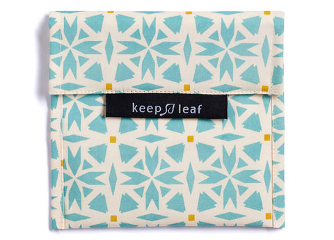 Keep Leaf - Reusable Baggie Large, Geo