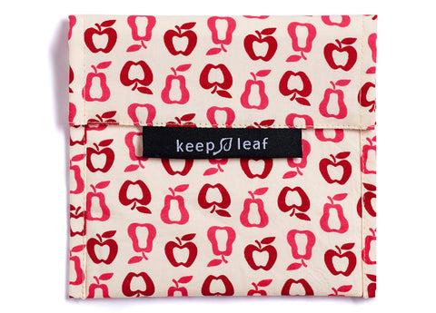 Keep Leaf - Reusable Baggie Large, New Fruit