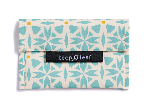 Keep Leaf - Reusable Baggie Small, Geo