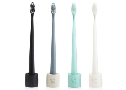 The Natural Family Co - Bio Toothbrush with Stand