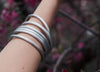 Loom Designs - Peace Project Bangle