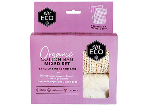 Ever Eco - Reusable Produce Bags, Organic Cotton