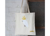 Sunday Paper - Organic Cotton Calico Tote Bag