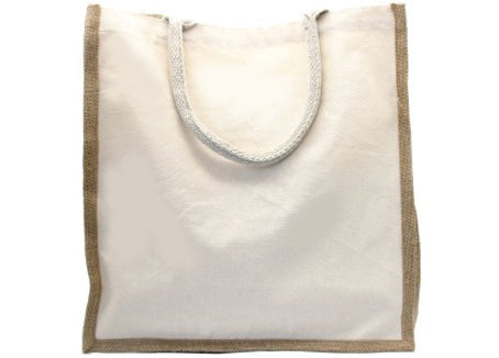Green Essentials - Jute & Cotton Shopping Bag