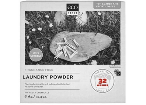 Ecostore - Laundry Powder Fragrance Free 1kg