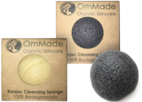 Om Made - Konjac Cleansing Sponge