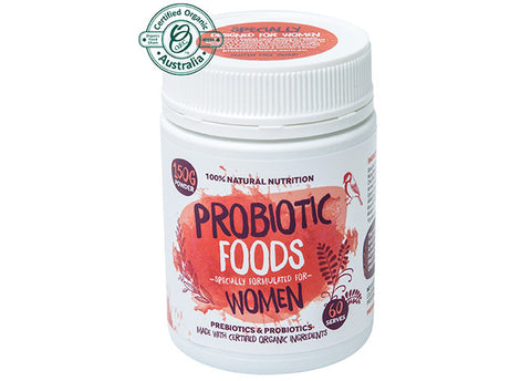 Probiotic Foods - for Women, 150g powder