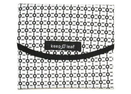 Keep Leaf - Sandwich Wrap, Black and White