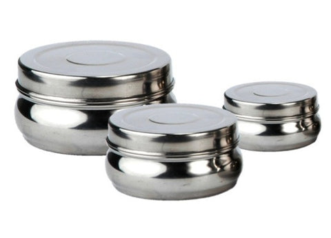 Lunchbox Mania - Stainless Steel Belly Canisters 3 pack