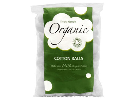 Simply Gentle - Organic Cotton Balls 100