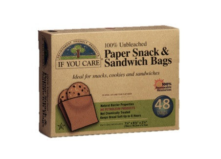 If You Care - Paper Snack & Sandwich Bags