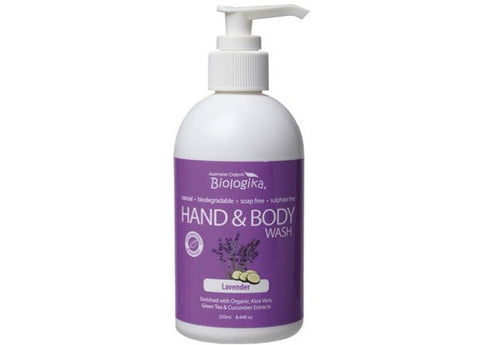 Biologika - Hand and Body Wash Lavender 250ml