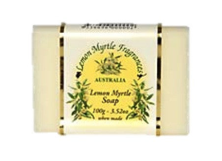 Lemon Myrtle Fragrances - Soap 100g