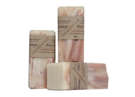 Alex's Handcrafted Soaps - Sandalwood
