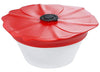 Charles Viancin - Silicone Spill-Proof Lid, Poppy Pop