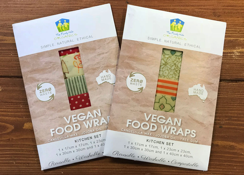 The Family Hub Organics Vegan Food Wraps Kitchen Set By Naturally