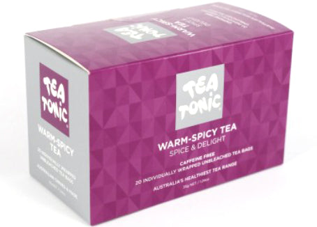 Tea Tonic - Warm-Spicy Tea, 20 Tea bags