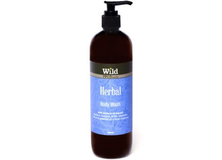 Wild - Herbal Body Wash, 500ml