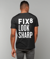 """Fix8 Look Sharp"" Unisex T-Shirt - Fix8"