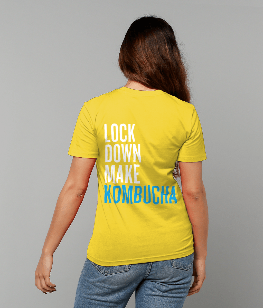 """Lock Down Make Kombucha"" Unisex T-Shirt - Fix8"