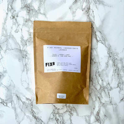 Organic Tulsi Tea Fine Cut 100g - Fix8