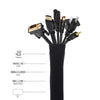 Cable Management Sleeve(4PCS) - leitemall