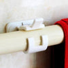 Self Adhesive Hooks Rod Bracket Pole - leitemall