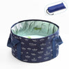 Foldable Portable Travel Bucket - leitemall