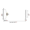 304 Stainless Steel Telescopic Clothesline - leitemall