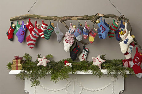 Knit Sock Advent calendar