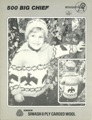 Vintage Bouquet Cowichan-Style Sweater Patterns