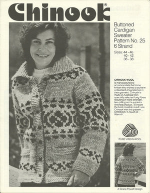 Vintage Chinook Cowichan-Style Sweater Patterns