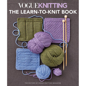 Vogue Knitting Learn to Knit Book