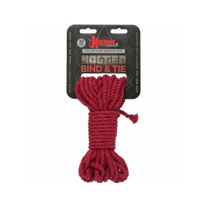 Hemp Bondage Rope - Red