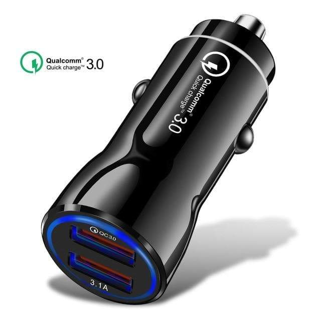 SportsChest 2 Port USB Quick Car Charger 3.0