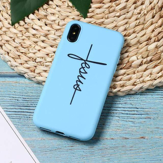 SportsChest 3 / For iPhone 5 5S SE Faith & Jesus iPhone Case