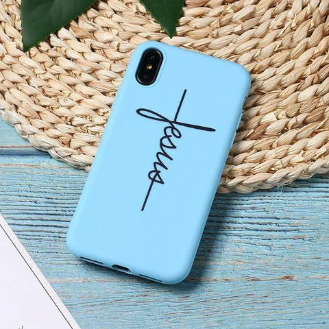 Image of SportsChest 3 / For iPhone 5 5S SE Faith & Jesus iPhone Case