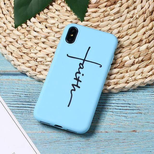 SportsChest 4 / For iPhone 5 5S SE Faith & Jesus iPhone Case