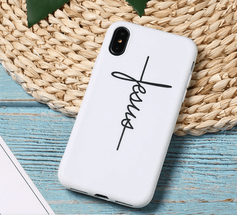 Image of SportsChest 5 / For iPhone 6 6S Faith & Jesus iPhone Case