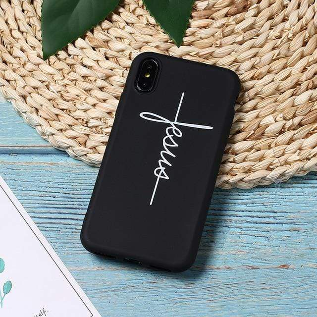 SportsChest 7 / For iPhone 5 5S SE Faith & Jesus iPhone Case