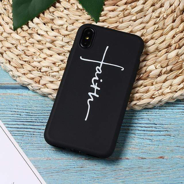 SportsChest 8 / For iPhone 5 5S SE Faith & Jesus iPhone Case