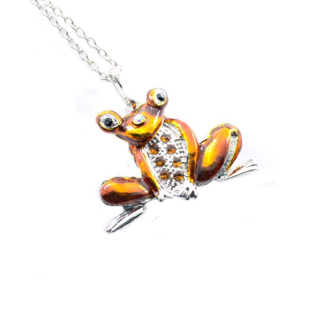 SportsChest Animal Necklace Orange / one-size Toad Necklace