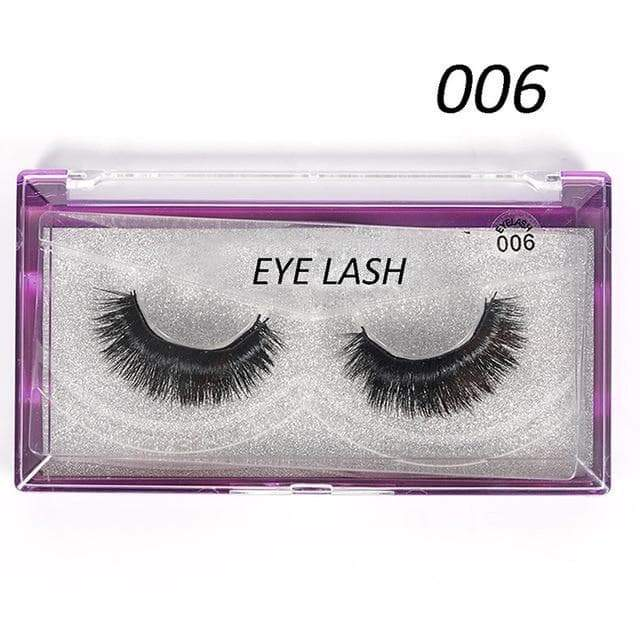 SportsChest as photo shows 1 3D Thick Magnetic Eyelashes
